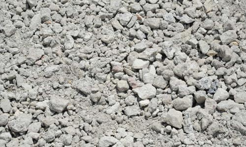 crushed concrete aggregate