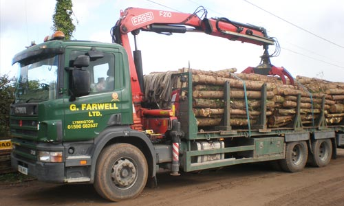 Saw Mill For Sale >> G. Farwell Ltd Haulage & Transport Hire Vehicles | Hampshire & Dorset