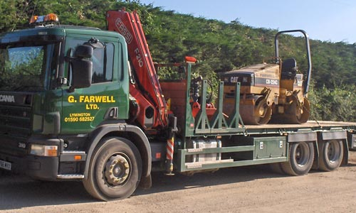 Farwells - Roller Plant Hire Hampshire