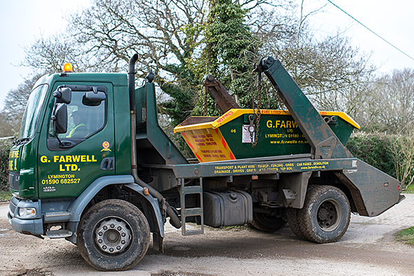 Skip Hire New Forest