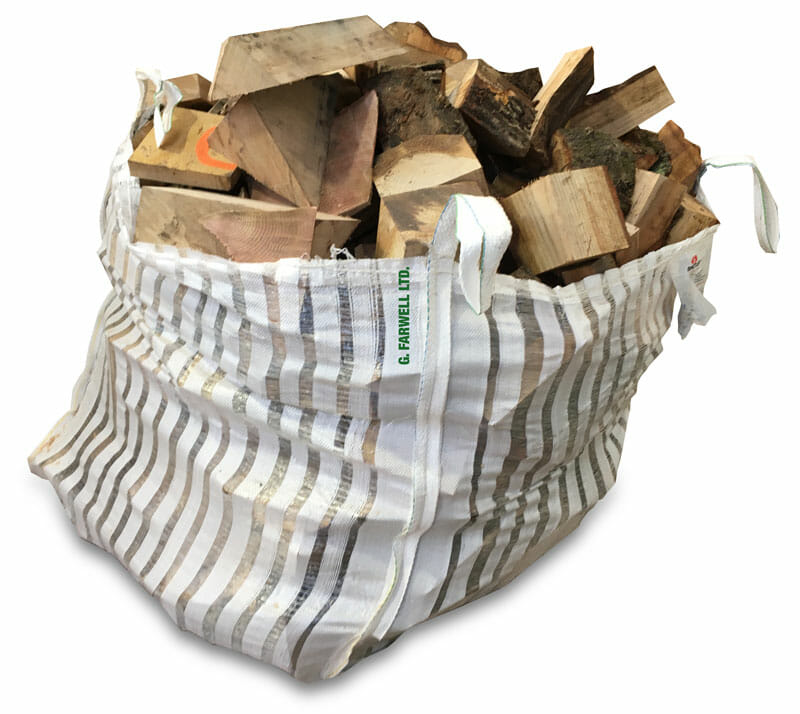 Farwells vented new forest firewood bulk bag