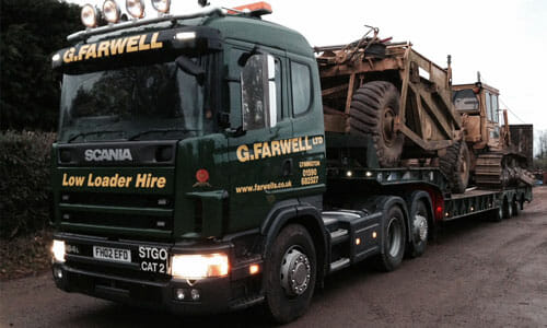 low loader hire and haulage