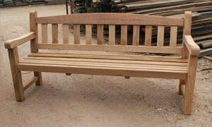custom wooden benches