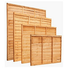 waney edge fence panels
