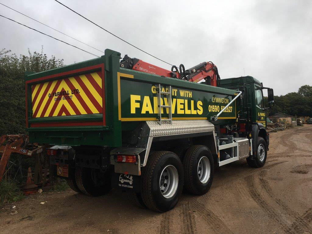 farwells grab lorry hire ringwood & fordingbridge