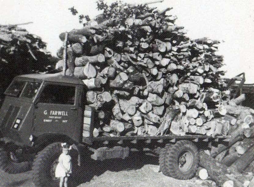 farwells in 1954